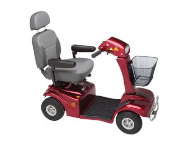 388 deluxe mobility pavement scooter
