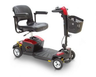 apex rapid 4 mobility boot scooter