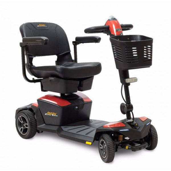 jazzy zero turn mobility boot scooter